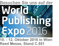 native:media auf der World Publishing Expo in Wien auf Stand C.551